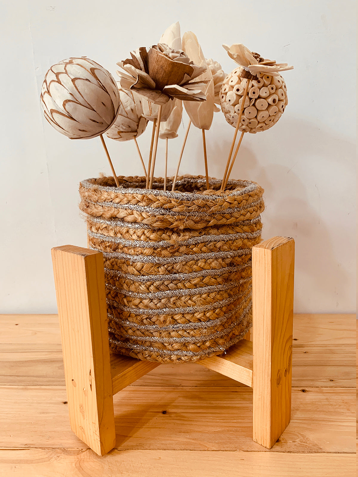 Jute Basket Planter