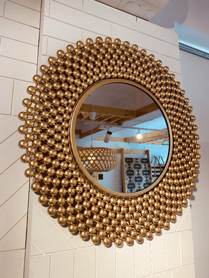 Golden Orb Cluster Mirror