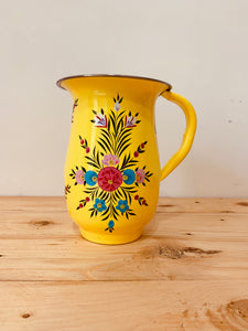 Hand Painted Jar