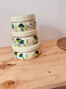 Hand Painted Boxes Set of 3
