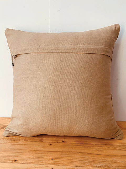 Rust ochre brown Kilim cushion cover 50 * 50 cm