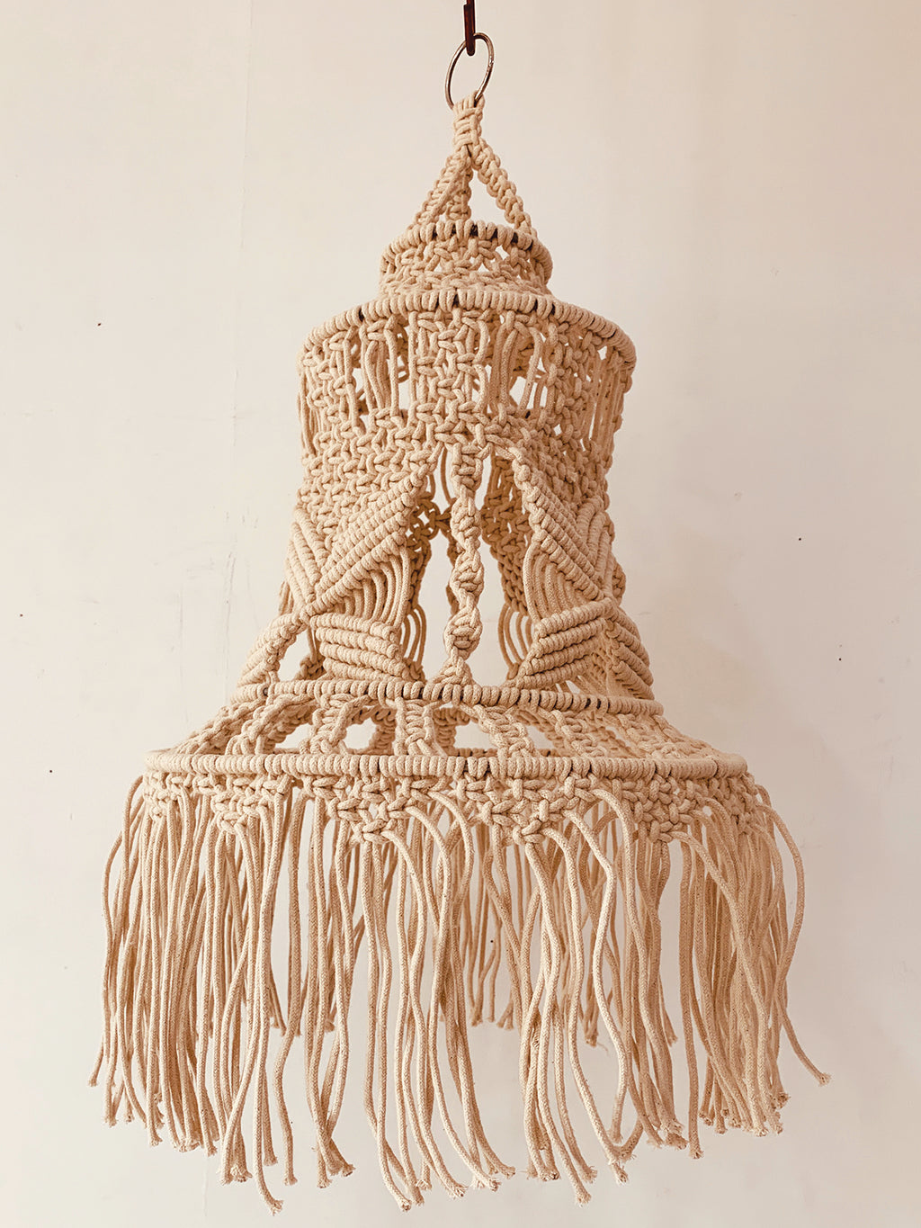 Macrame Lamp Decor