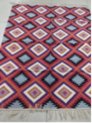 Handwoven Cotton Rugs INDI033