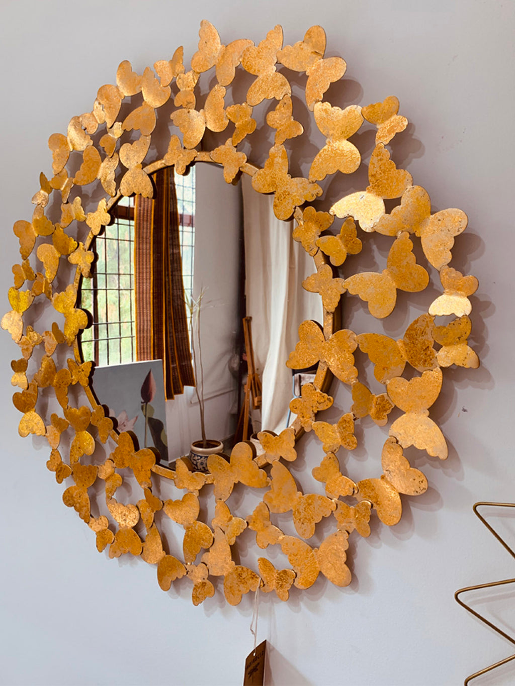 Butterfly Mirror frame  30""