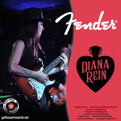 Diana Rein Becomes a Fender Endorsed Artist