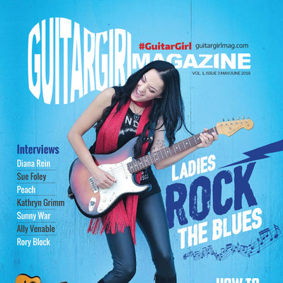 Guitar Girl Magazine Cover Story
