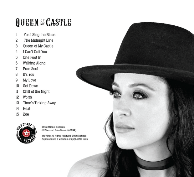 Queen of my Castle (2019) - Autographed CD and Personalized with your Name