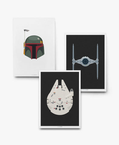 May The Force Be With You Print Sæt