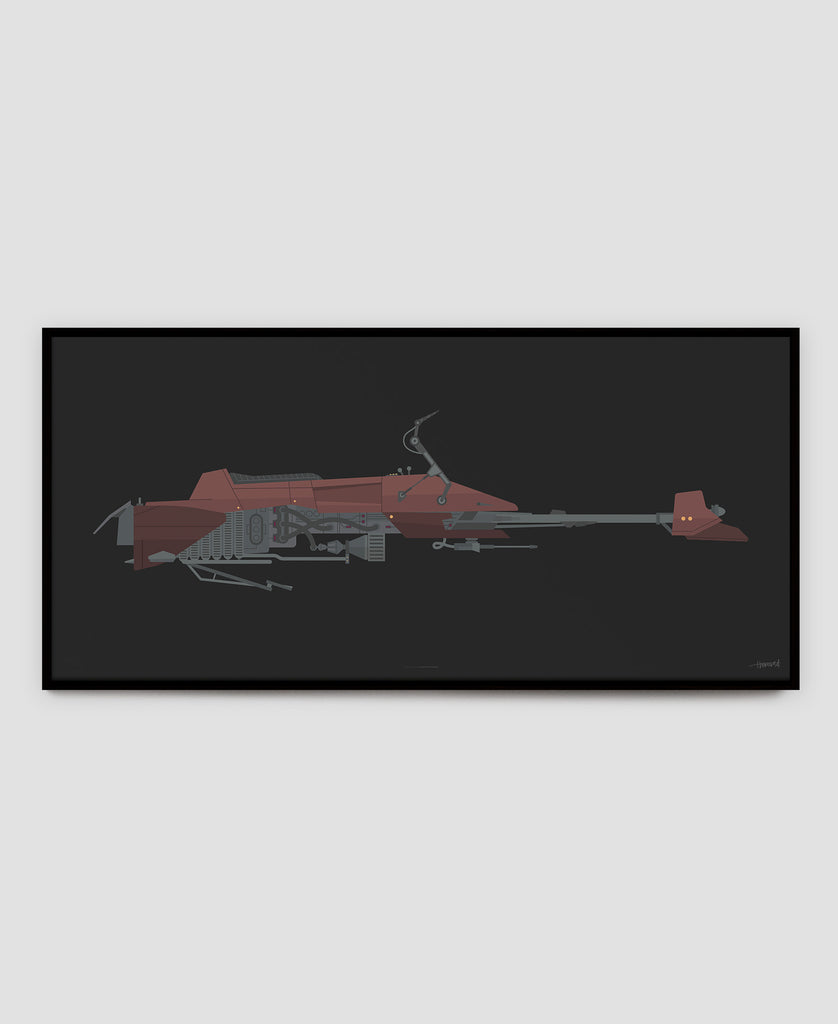 74-Z Speeder Bike — 5 x LIMITED EDITION