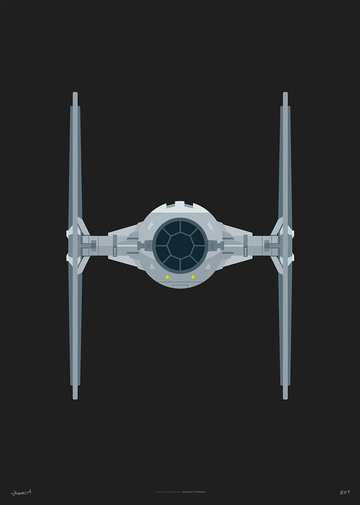 Tie Fighter — Limited Black
