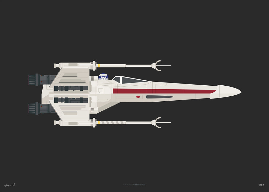 X-Wing — Limited Black