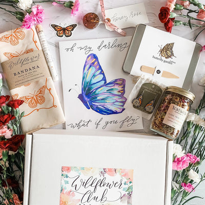 February Wildflower Club Box Reveal