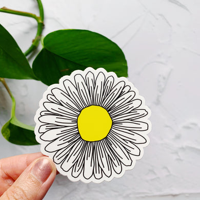 Daisy Flower Sticker Decal