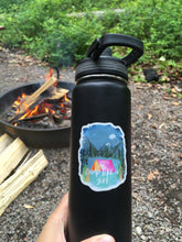Camp Like A Girl Sticker Decal