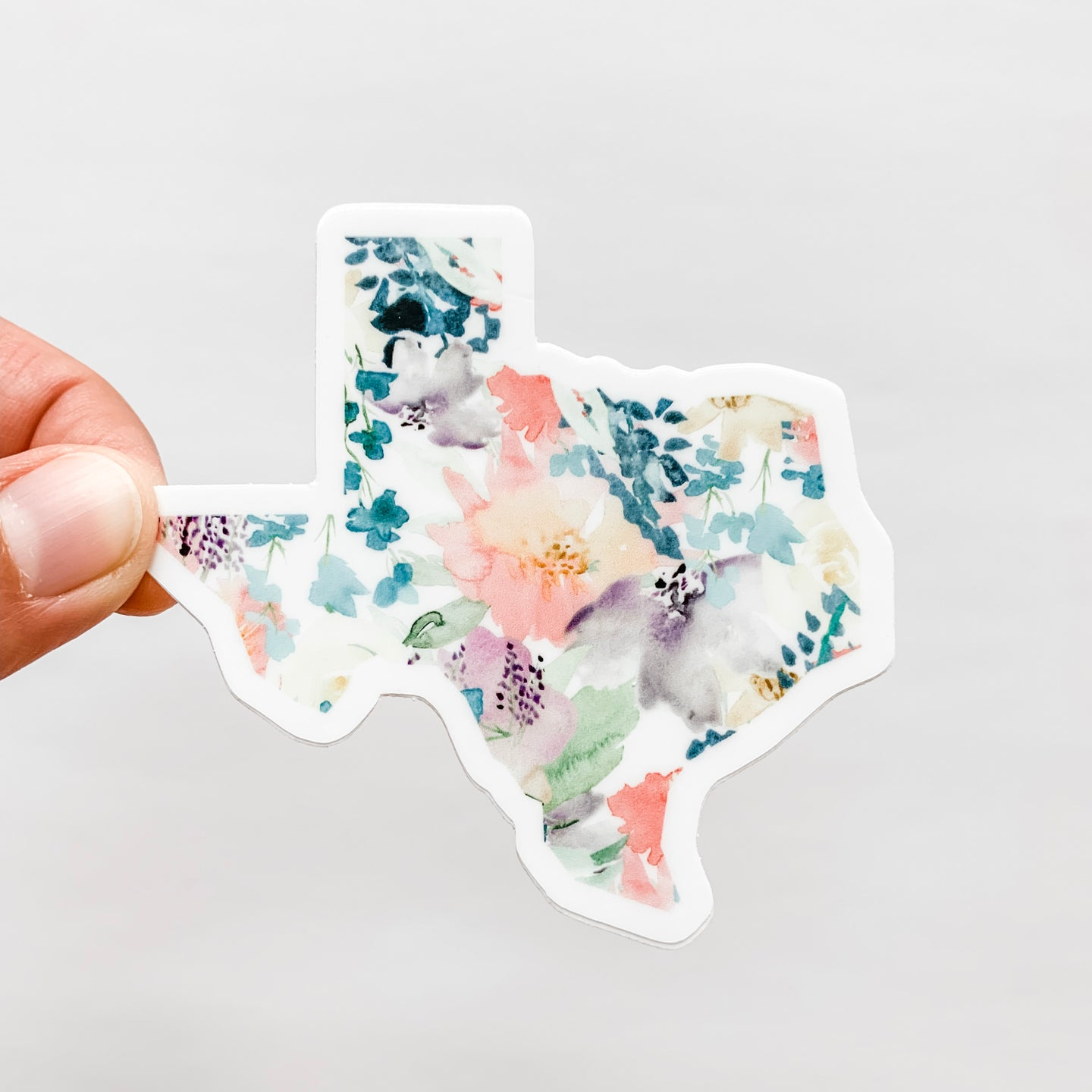Texas State Floral Soft Sticker Decal
