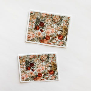 Colorado State Vintage Floral Sticker Decal