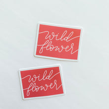 Colorado State Wildflower Coral Sticker Decal