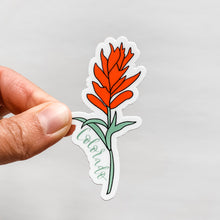 Colorado Indian Paintbrush Sticker Decal