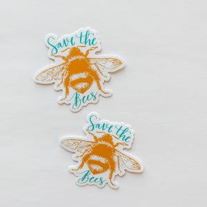 Save The Bees Sticker Decal