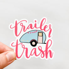 Trailer Trash Pink Sticker Decal