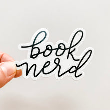 Book Nerd Sticker Decal