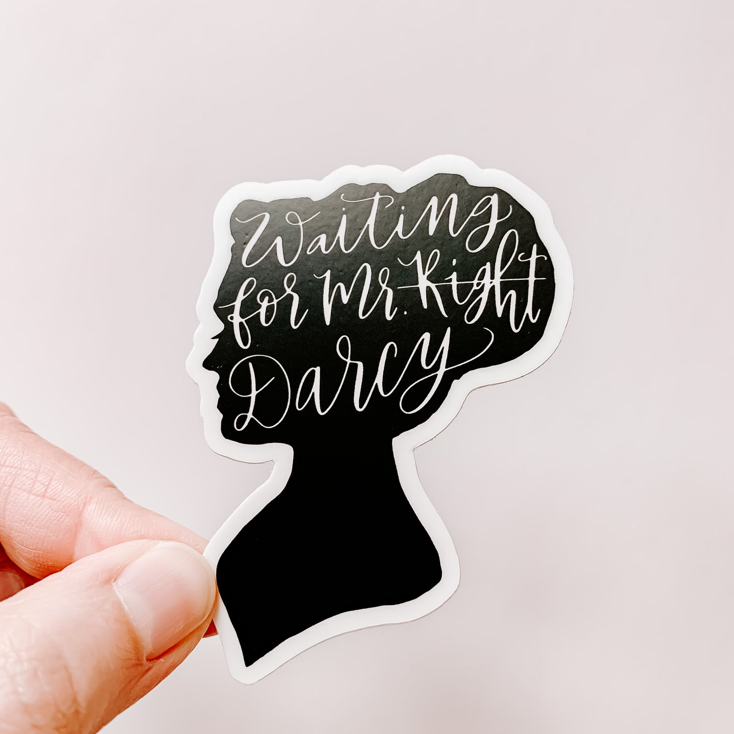 Waiting For Mr Darcy Sticker Decal