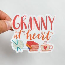 Granny At Heart Sticker Decal