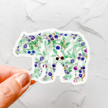 Huckleberry Bear Sticker Decal