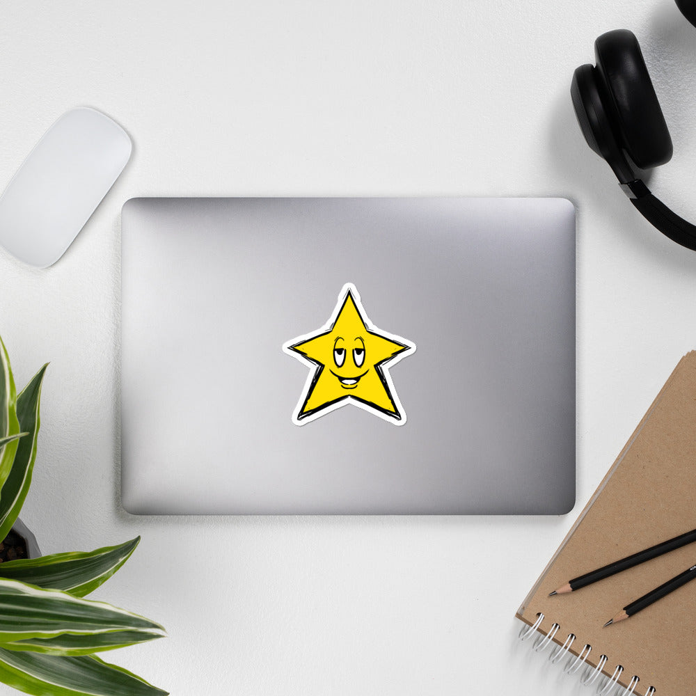 On A Star | Stickers