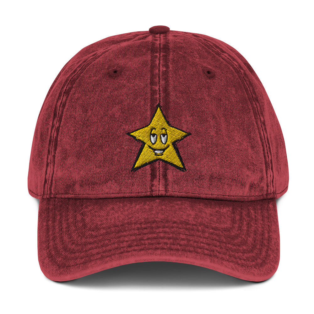On A Star | Red | Cap