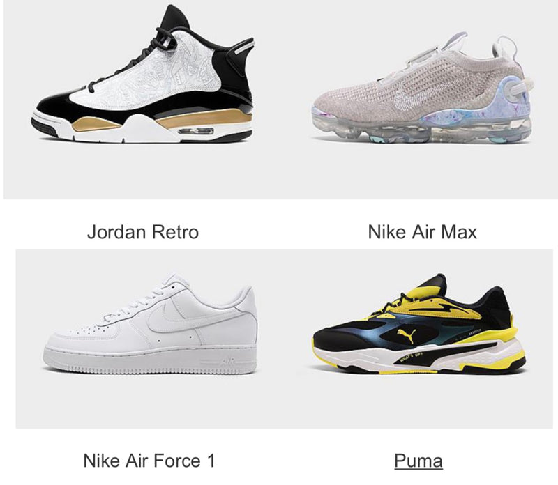 Shop the latest and greatest shoes