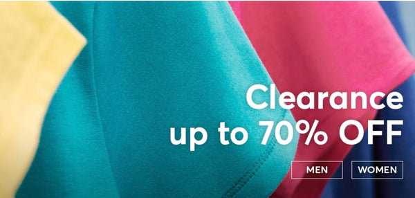 HANES....Clearance up to 70% OFF