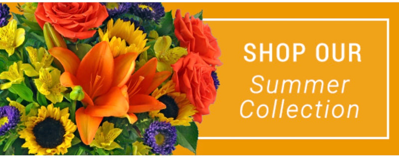 Bright Flowers for Summer... SAVE 25% SITEWIDE