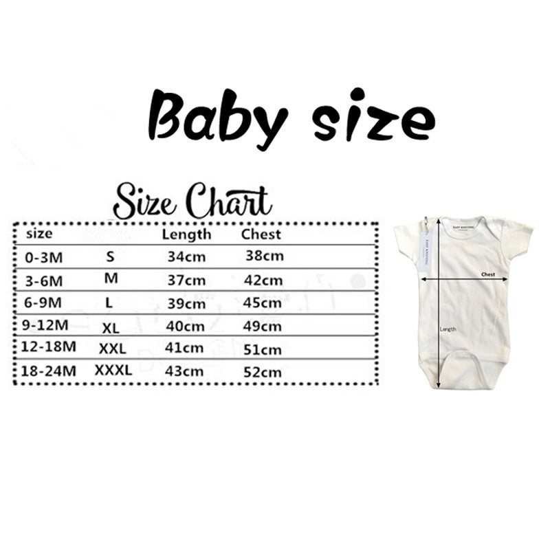 Cartoon Onesie Baby Boy Baby Clothes Funny One-piece Shirt Casual Onesies
