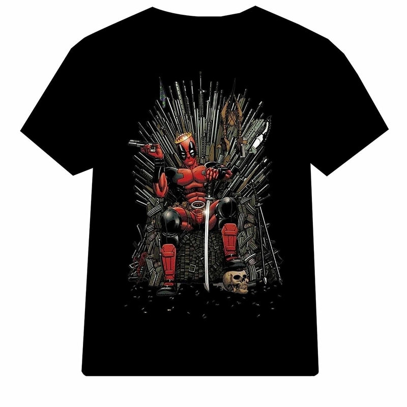 Man  Cool Casual Shirt Deadpool Game of Thrones for Men T Shirt