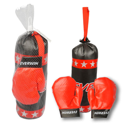 Case Pack: 6 PLAYSET,BOXING SACKw/GLOVES
