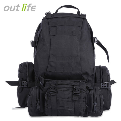 Outlife 50L Multifunction Molle Camouflage Backpack