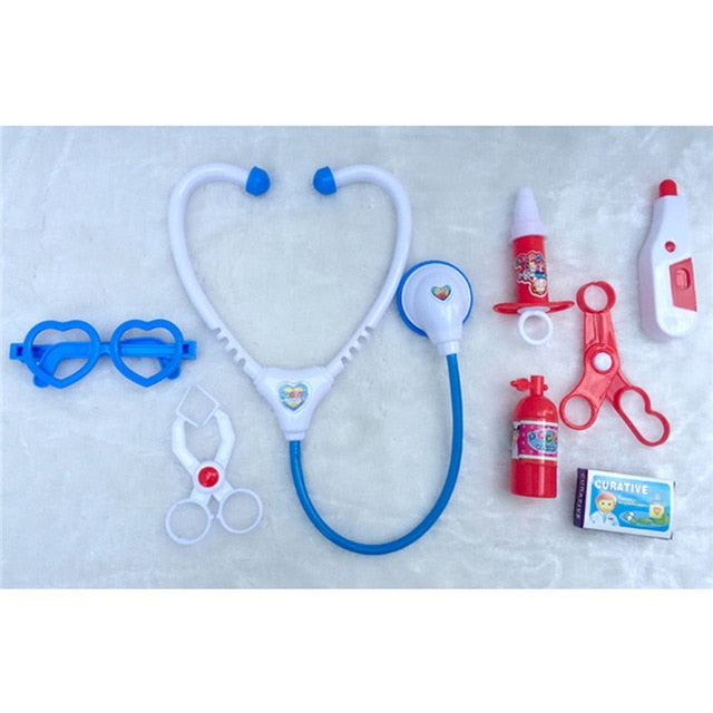 Doctor Toys Kids Role Play Simulation Medical Kit Toys