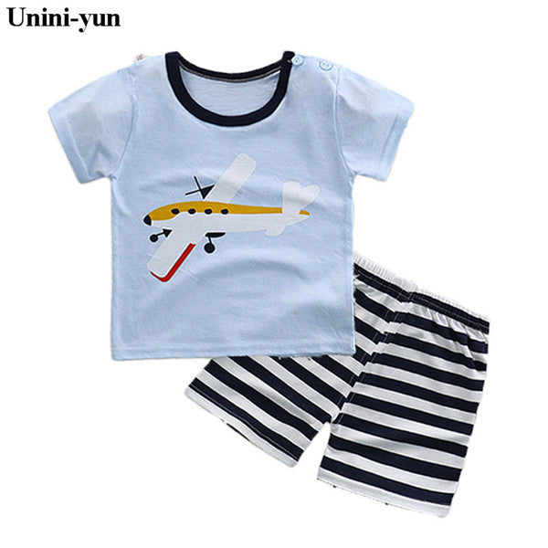 Girl Short sleeve T-shirt + Pant Fashion Style