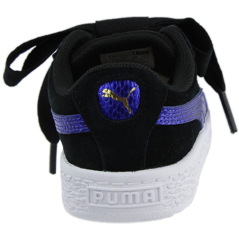 Puma Womens Suede Heart Snake Infant Casual Athletic & Sneakers