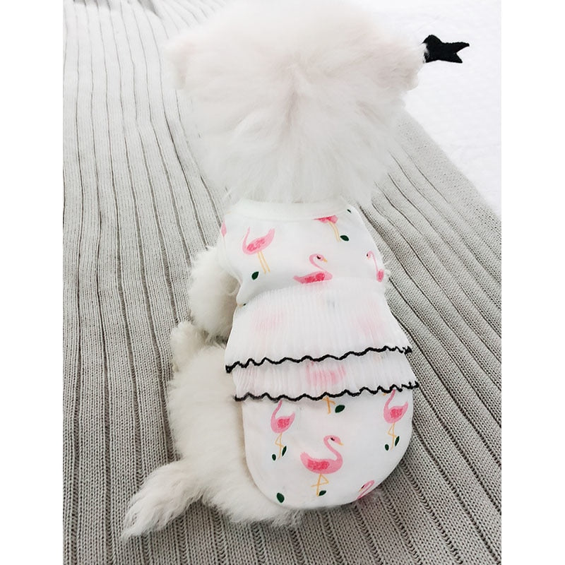 Summer Clothes for Dogs Puppy Cat S-XXL
