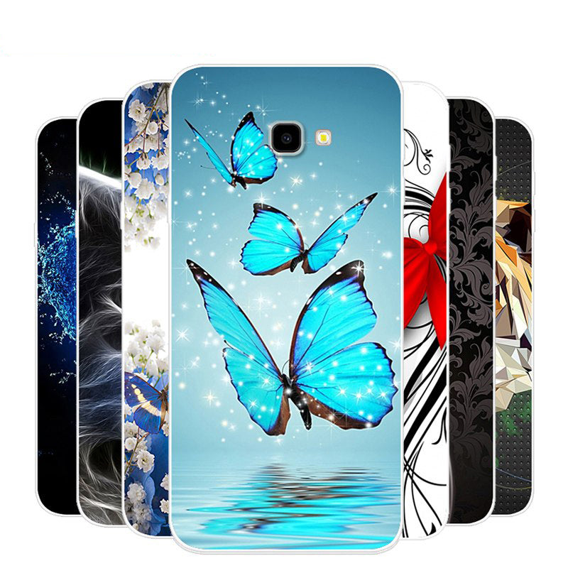 For Samsung Galaxy J4 Plus Case Silicone TPU Cover Phone Case