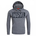 MARVEL Red Letter Printing Fashion Mens Hoodies Autumn Winter Brand Sweatshirts