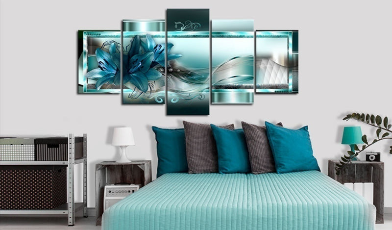 Fashion Home Decor Canvas Print Modern Abstract Flower Floral Art Painting