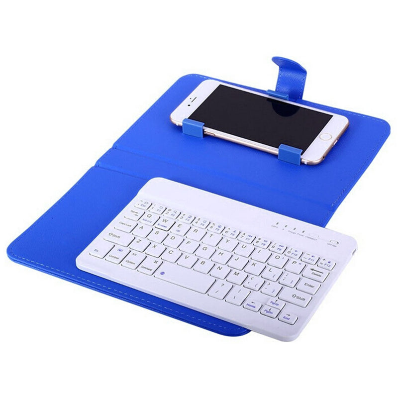 PU Leather Wireless Keyboard Case for iPhone  7