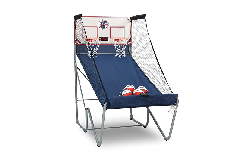 Home Dual Shot Basketball Arcade Game – 10 Individual Games – Large LED Scoring System