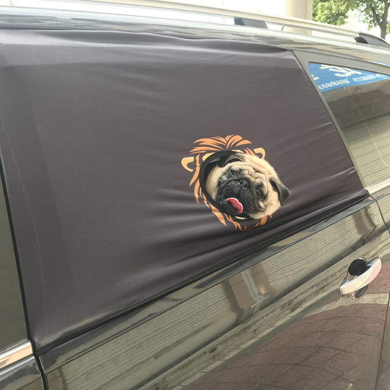 Peekapet Curtain bedroom Living room  Car Visor Cover Window Sun Shade Pet Dog Hang Out Car Window