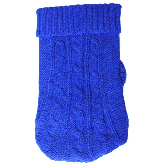 Autumn Winter Dog Clothes 5 Sizes Knitted Sweaters Cotton Puppy Dog Cat Warm Jackets Coats