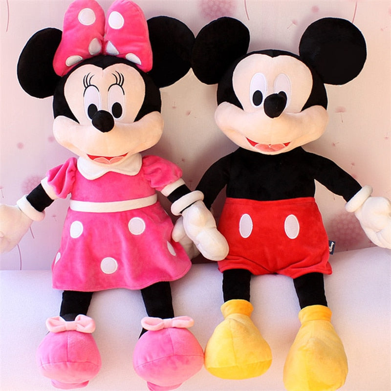 40cm Lovely Mickey Mouse Minnie Mouse Plush Toys Baby Cute Stuffed Animal