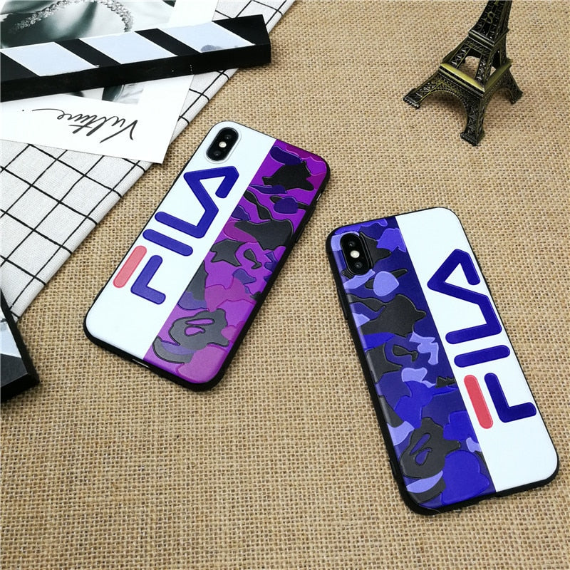 Camo Italy Sport phone cover case for iPhone X XS MAX XR 10 8 7 6 6S plus cases